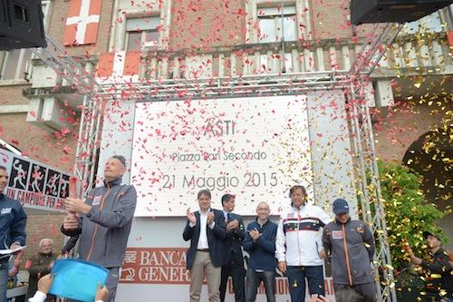 Ad Asti festa con quattro grandi campioni dello sport