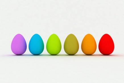 Le uova di Pasqua degli Amici dell'Opera Milliavacca
