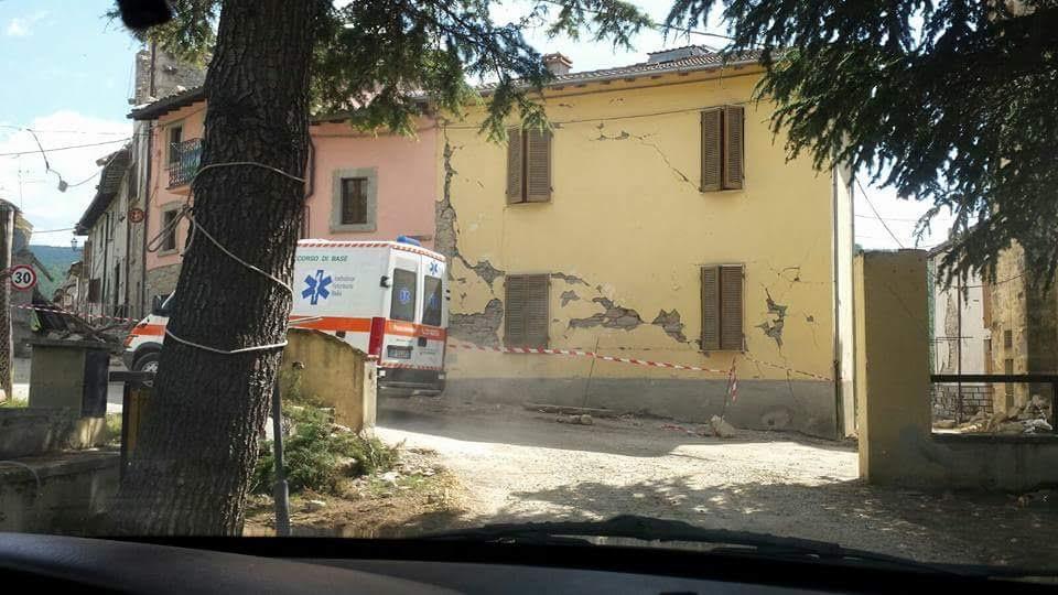 Aisa e Ambulanza Veterinaria nelle zone del sisma per aiutare gli animali