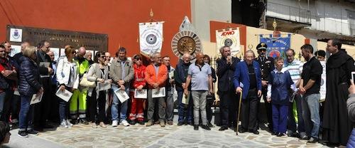 Castello d'Annone inaugura la piazzetta della solidarietà