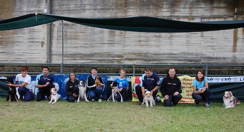 Ottimo successo per la gara di agility dog di Portacomaro