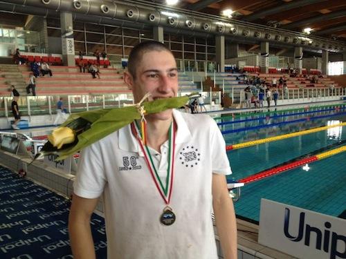 Asti Nuoto: Alberto Brumana è campione italiano dei 5000 metri