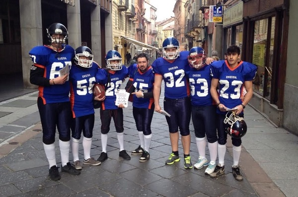 Sabato alternativo per gli Alfieri Asti American Football Team