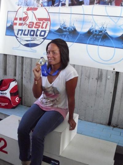 Intervista ad Alice Franco, una campionessa che non riesce a stare lontano dall'acqua