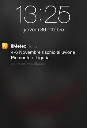 A vent'anni dall'alluvione, allerta meteo negli stessi giorni in Piemonte