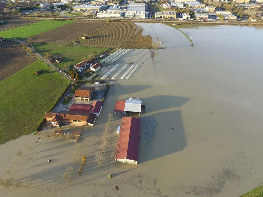 """Coldiretti: """"Ci vuole lo stato di calamità, l'alluvione ha seriamente danneggiato il settore agricolo"""""""