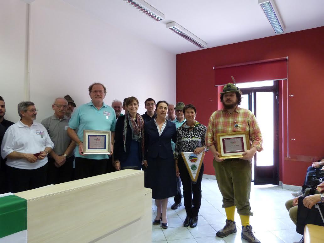 Il Collegio dei Geometri di Asti accoglie gli alpini in memoria di Pier Franco Ferraris