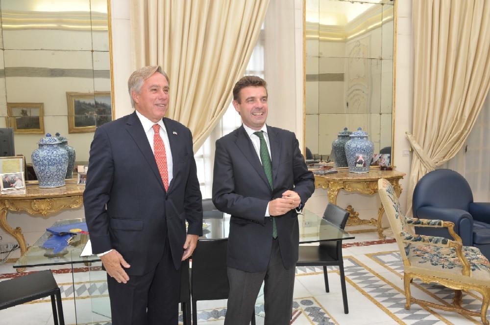 L'ambasciatore Usa David Thorne in Regione