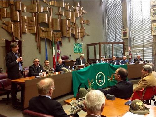 L'assemblea dell'Associazione Alpini, all'insegna dell'adunata 2016