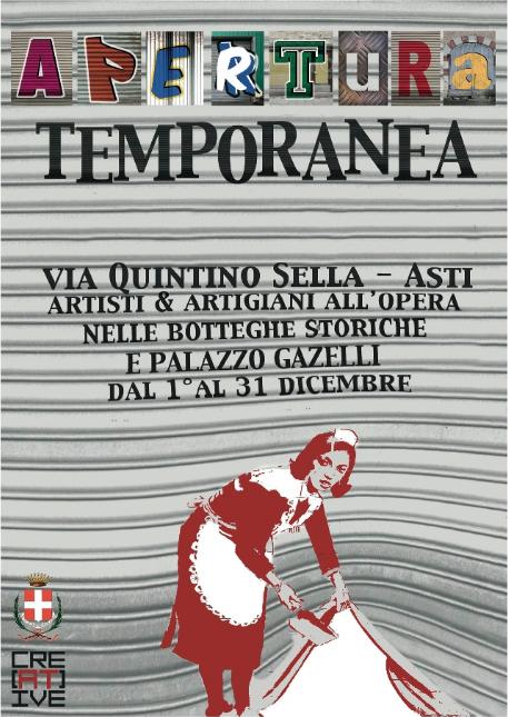 """""""Apertura temporanea"""": nuovo progetto dell'associazione Cre[AT]ive"""