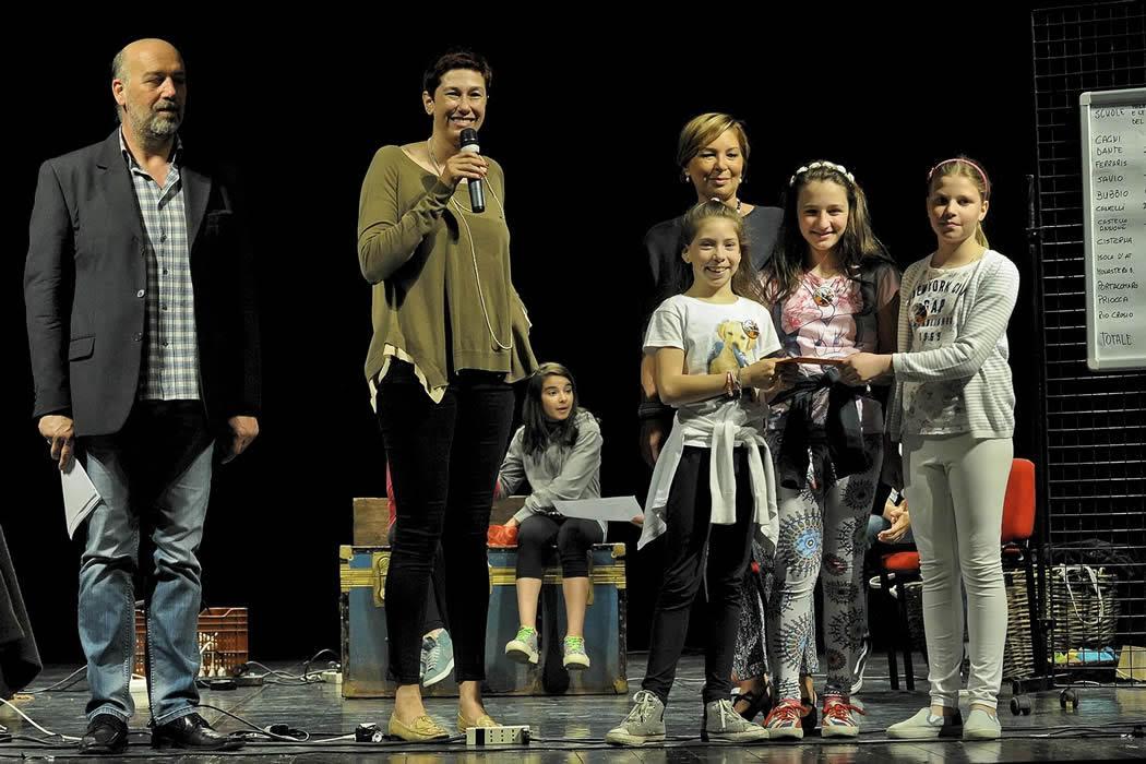 Al Teatro Alfieri i piccoli lettori di Atsi d'Appello Junior