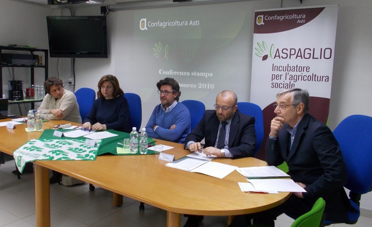 Confagricoltura Asti presenta il progetto Aspaglio: gettate le basi per la creazione di un solido distretto dell'agricoltura sociale in Piemonte