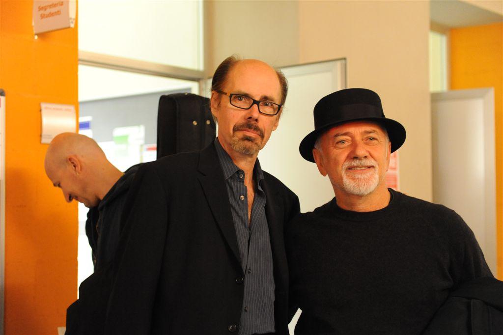 Le foto dell'incontro con Jeffery Deaver e Giorgio Faletti ad Asti