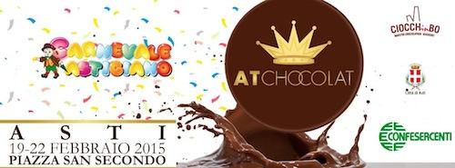 Asti per quattro giorni si trasforma nella città del gusto con At Chocolat