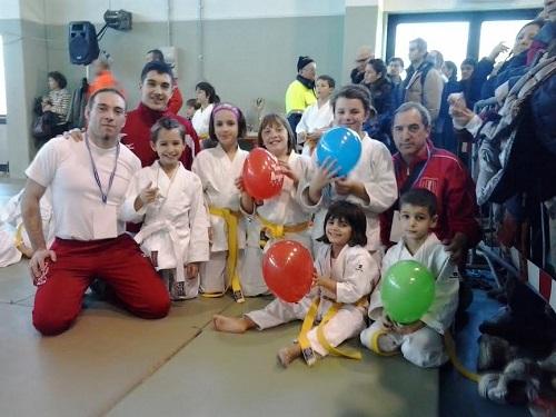 Buoni piazzamenti degli atleti del Judo Club Asti al torneo di Castiraga Vidardo