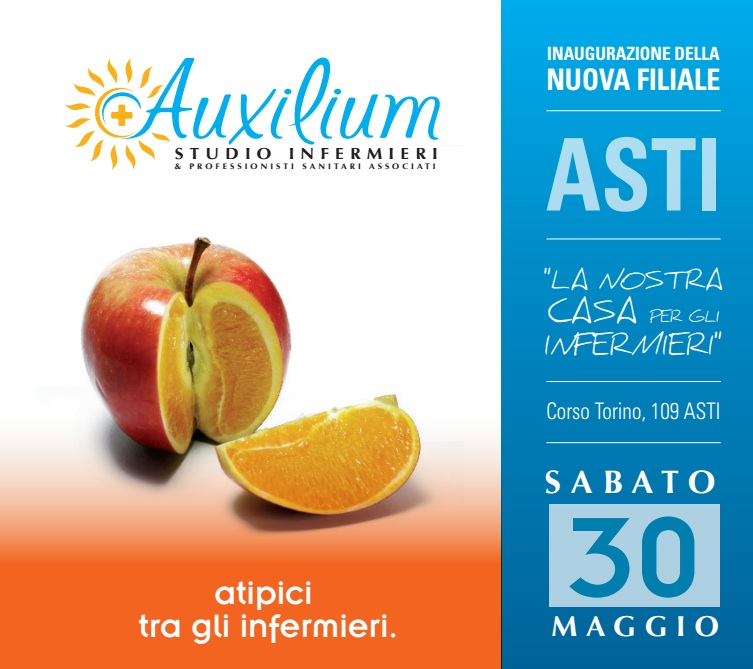 Ad Asti apre lo studio infermieristico Auxilium