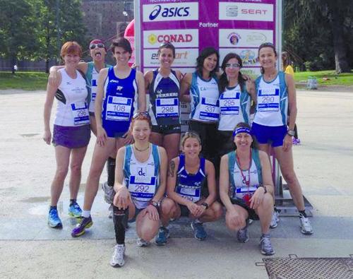 Podismo: Claudia Solaro terza all'Avon Running