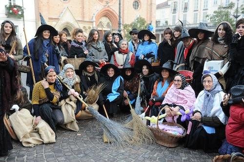 Le Befane in piazza San Secondo