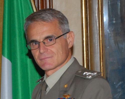 Paolo Bosotti è il nuovo comandante della Regione Militare Nord