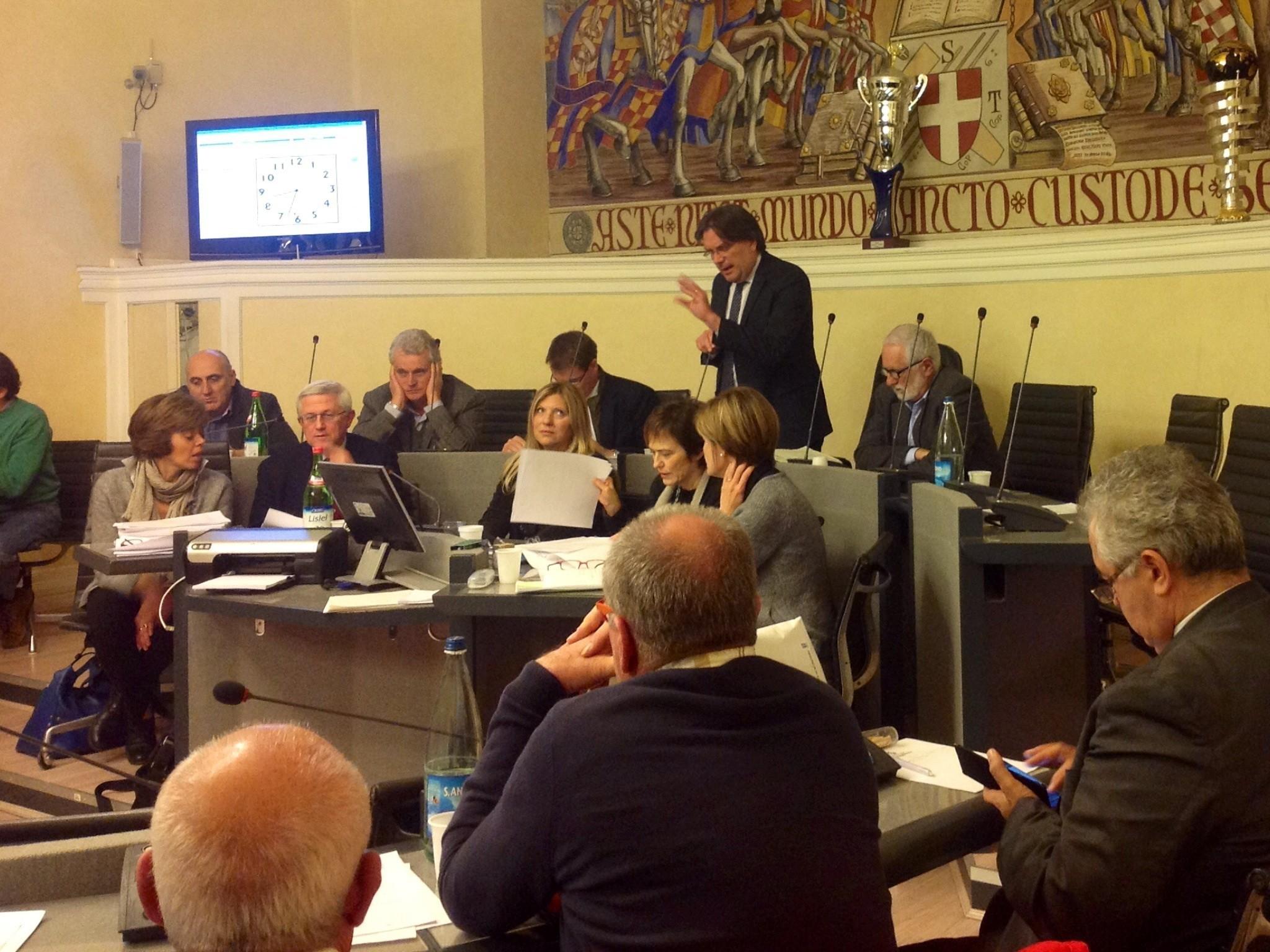 Comune di Asti: da stasera l'esame del Bilancio 2017