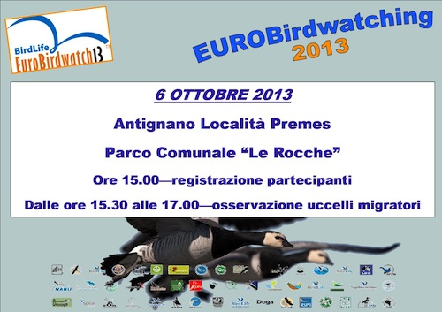 Con la Lipu una domenica dedicata all'Eurobirdwatching