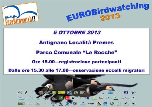 Con la Lipu una domenica dedicata all'Eurobirdwatching