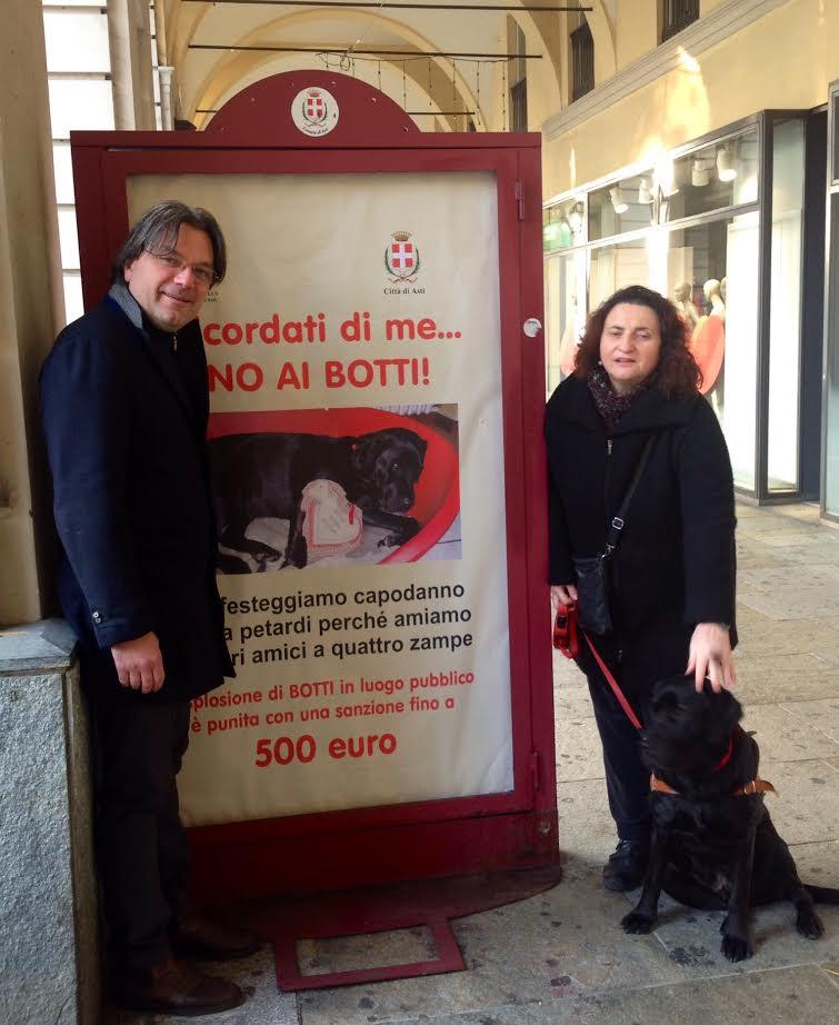 Ordinanza del sindaco di Asti contro i botti di capodanno