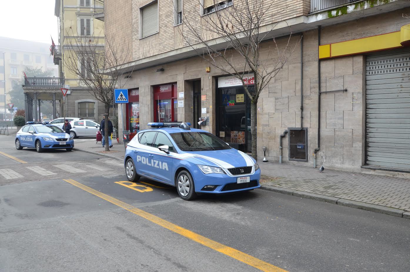 La polizia di Asti chiude un bar in corso Torino