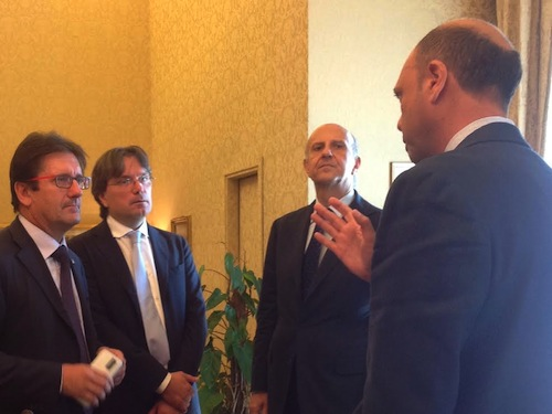 Allarme sicurezza ad Asti. Il sindaco Brignolo incontra il ministro Alfano