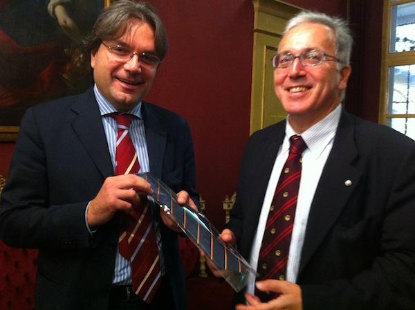Il presidente nazionale del Wwf accolto in Municipio ad Asti