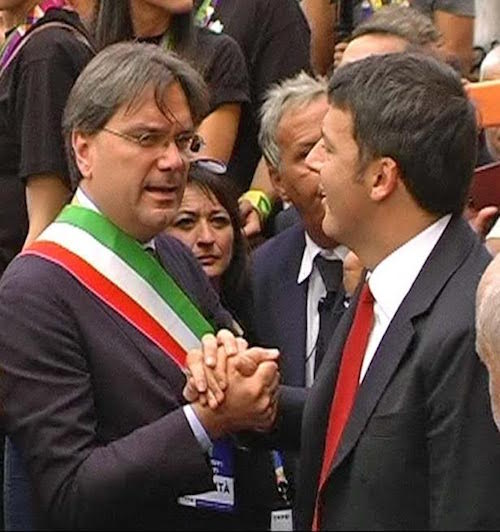 """Brignolo incontra Renzi alla giornata di Coldiretti: """"Bene per Asti l'abolizione di Imu e Irap agricola"""""""