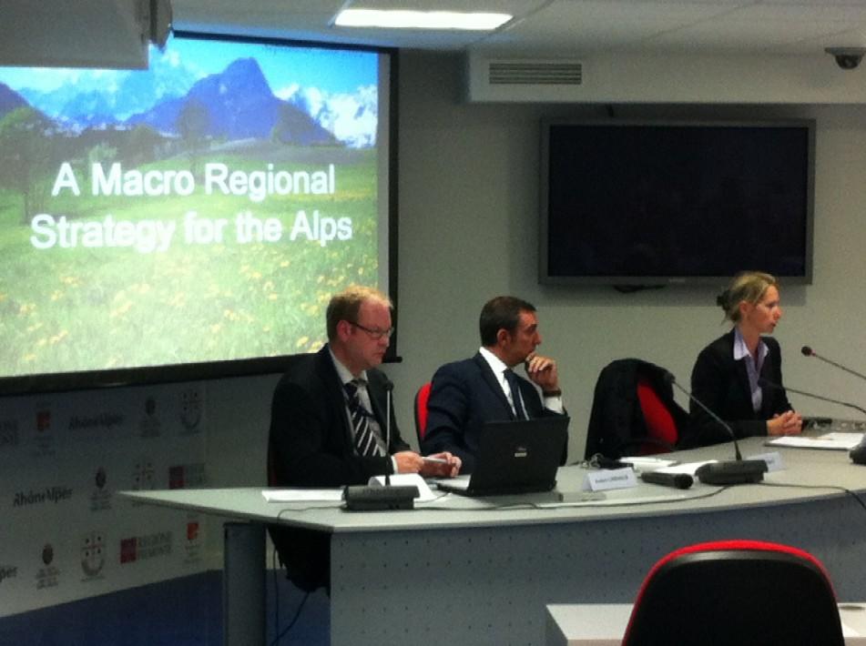 A Bruxelles si parla della Macroregione Alpina