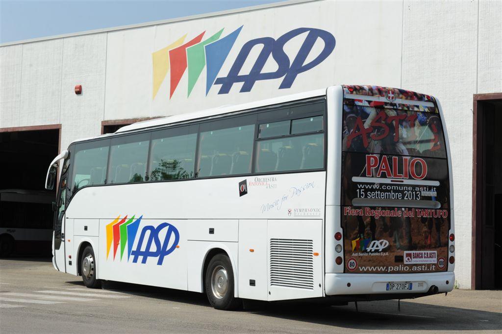 Da domani il bus dell'Asp della linea 6 (San Fedele) arriverà in piazza Marconi alle 6.51