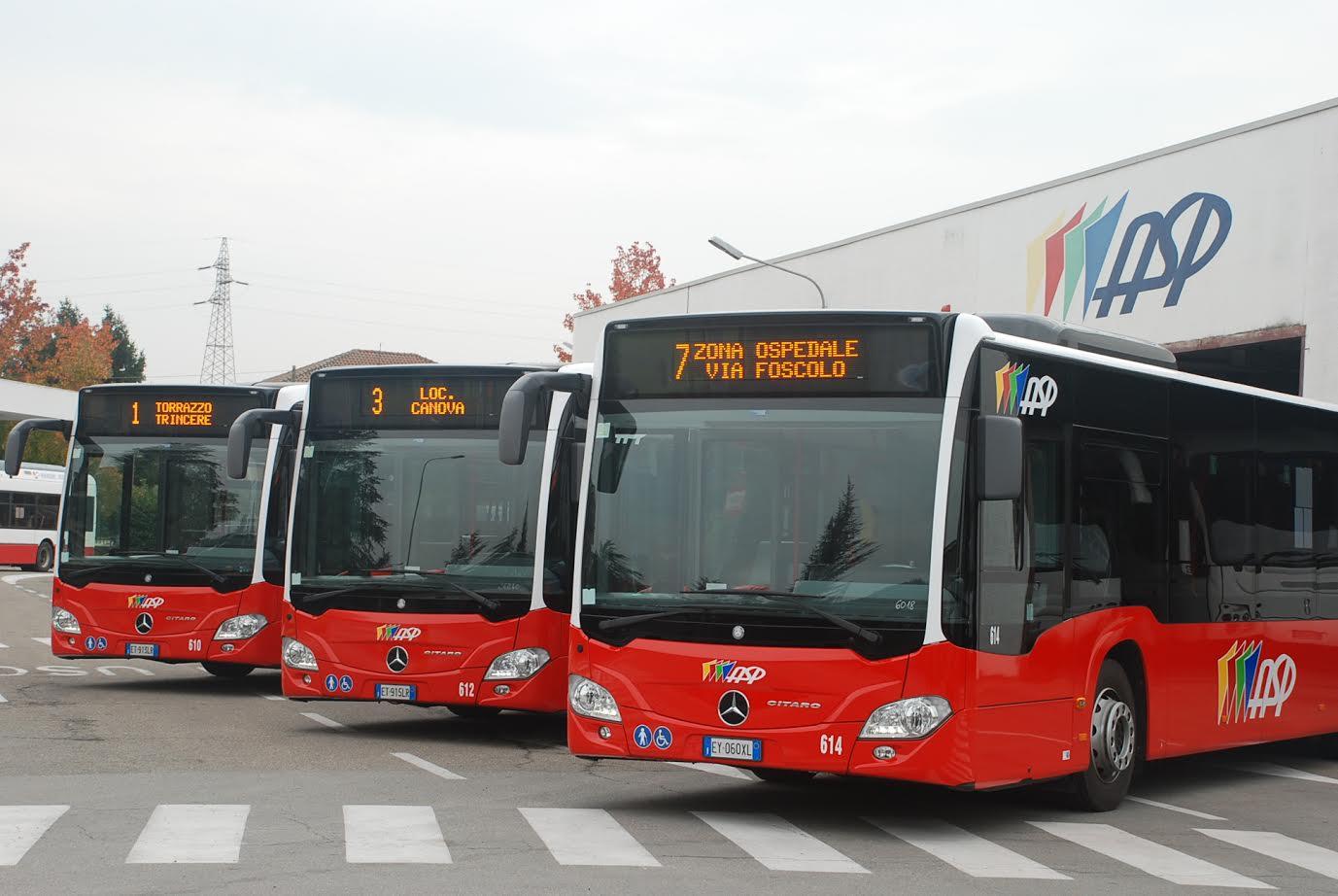 Orari estivi delle linee urbane di Asp in vigore da lunedì 25 giugno