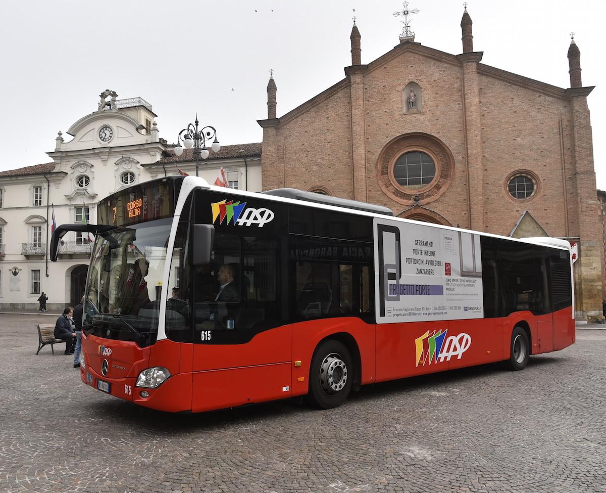 I bus di Asti più sicuri e a misura di passeggero