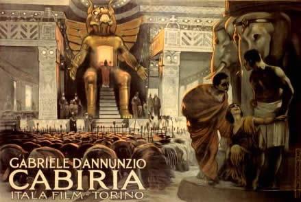In Sala Pastrone si celebra il centenario di Cabiria