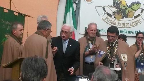 Giorgio Calabrese ambasciatore della nocciola nel mondo