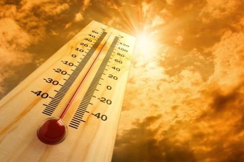 Asti, arriva il caldo record con massime oltre i 40°
