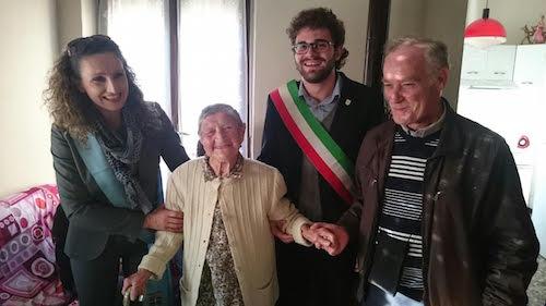 Ernesta Caligaris nuova patriarca nell'Astigiano