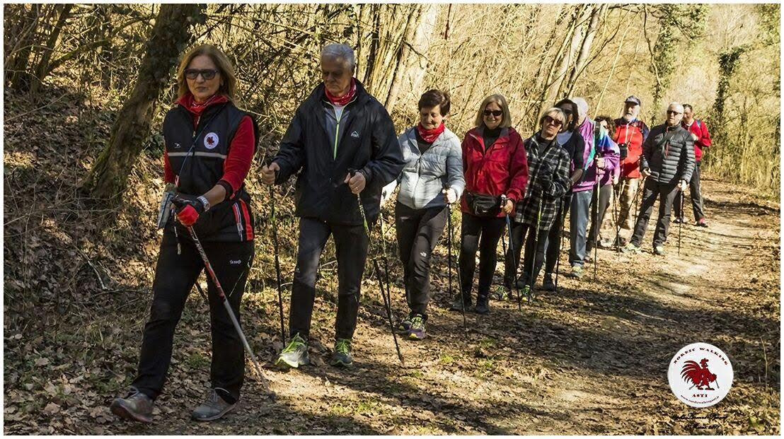 Camminata Nordic Walking in Valleandona