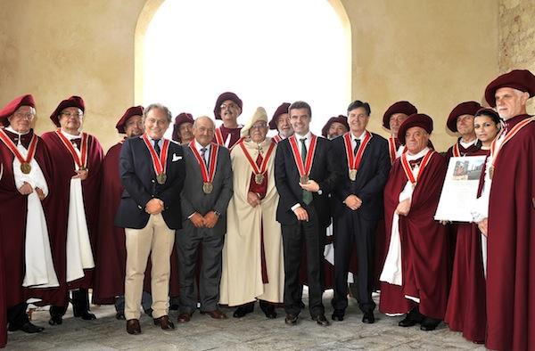 Solenne Capitolo dell'Abbazia di Vezzolano dei Cavalieri delle Terre di Asti e del Monferrato