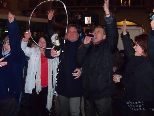 Il capodanno tra gli astigiani del sindaco Brignolo, tra sociale e solidarietà