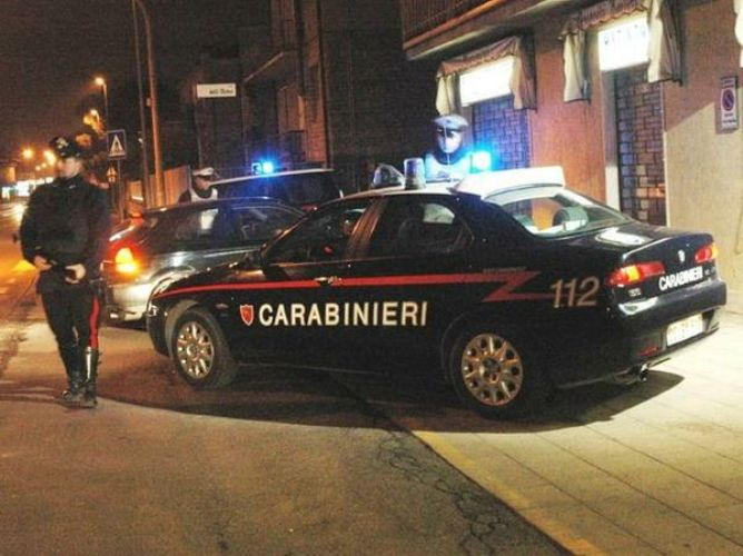 Topo d'auto denunciato dai carabinieri