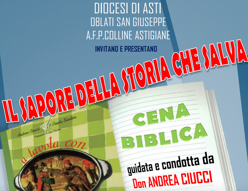 Cena biblica ad Asti