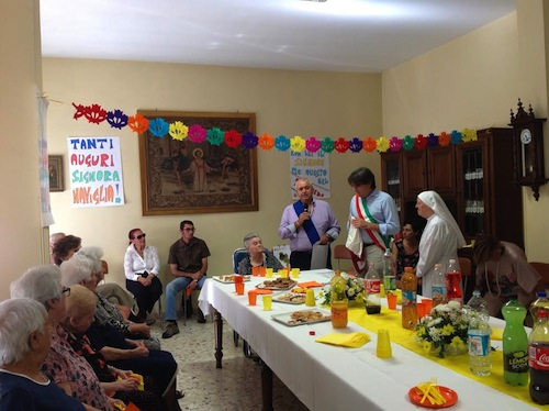 Centenaria alla casa di riposo Villa Cora di Canelli
