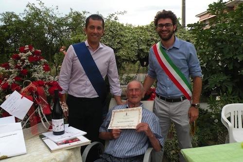 Canelli festeggia un nuovo patriarca dell'Astigiano