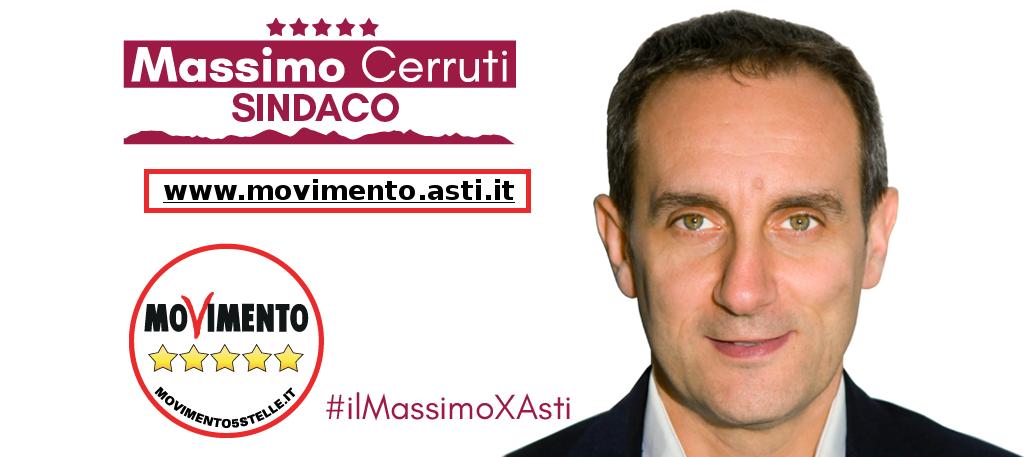 Amministrative Asti. Cerruti supera Motta per sei voti: cinquestelle al ballottaggio