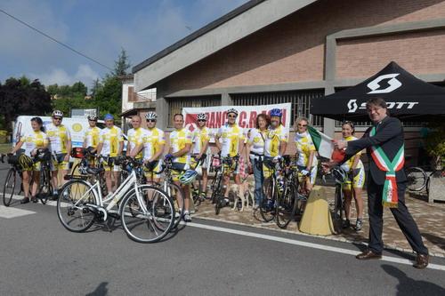 In bicicletta da Papa Francesco