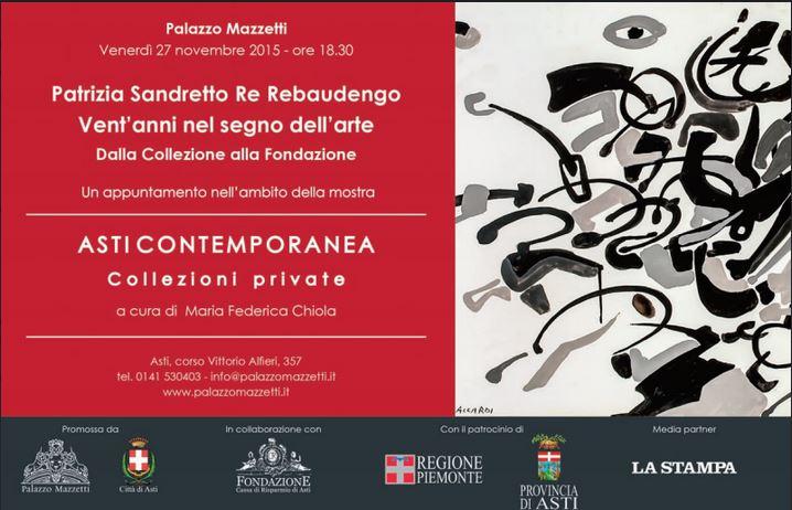 Patrizia Sandretto Re Rebaudengo a Palazzo Mazzetti