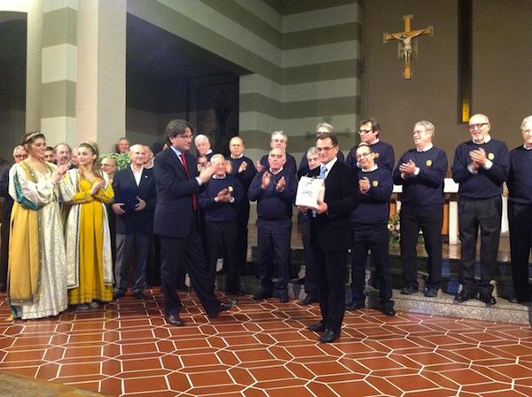 Pubblico caloroso per l'VIII rassegna di Canti Popolari a San Domenico Savio